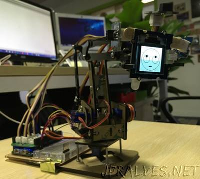 DIY a robotic emoji lamp
