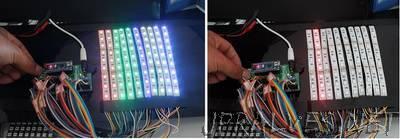 How to make a LED Scroll Bar