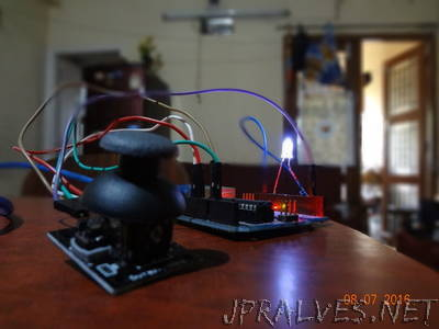 Joystick Led Pwm