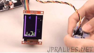Play Tetris Game with Arduino