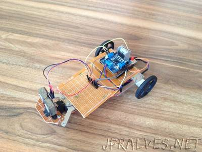 Obstacle Avoidance Vehicle using ATmega328P microcontroller