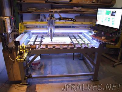 Raptor 5: a Fully Iron CNC DIY