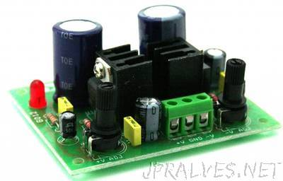 Dual Adjustable Regulated power supply 1.2V TO 37V DC
