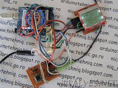 RDA5708 FM radio with Arduino