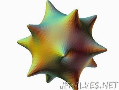 Polyhedron CC~ish Subdivision Demo OPENSCAD