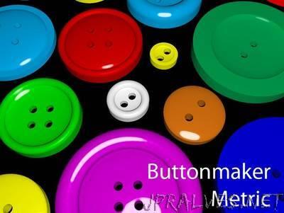 Parametric Button Generator - Metric Edition