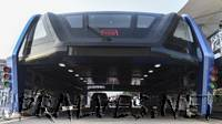 China's elevated bus: Futuristic 'straddling bus' hits the road