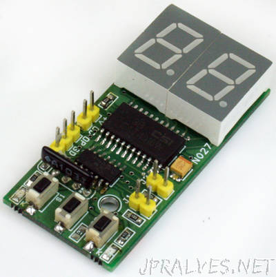2 Digit Digital Up Counter Using PIC16F1825