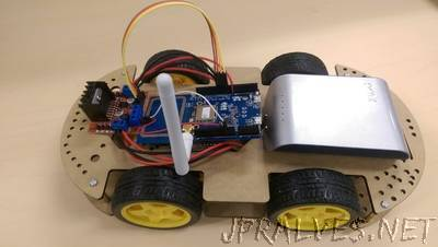 Arduino Motorcar Control Using 6-Axis Sensor
