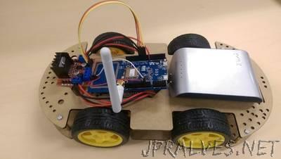 Arduino Motorcar Control Using 6-Axis Sensor