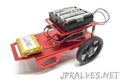 Build an ESP8266 Mobile Robot