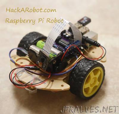 How to build a Raspberry Pi Robot (part 1)