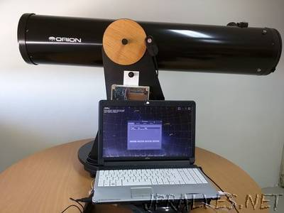 Control Your Telescope Using Stellarium & Arduino
