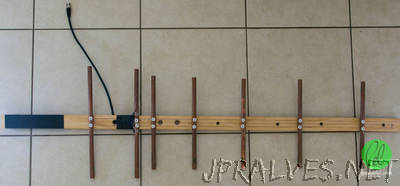 DIY: Build a 70cm Band Yagi for Amateur Satellite Tracking