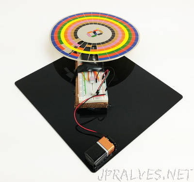 Make an Optical Disk Display