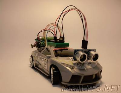 RC Car Arduino Controlled