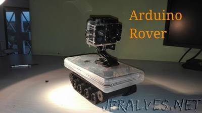Arduino Bluetooth Exploration Rover