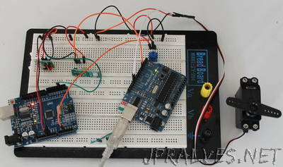 Arduino ServoTimer2 and VirtualWire 433MHz Receiver