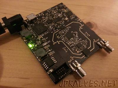 Cheap homemade 30 MHz - 6 GHz vector network analyzer