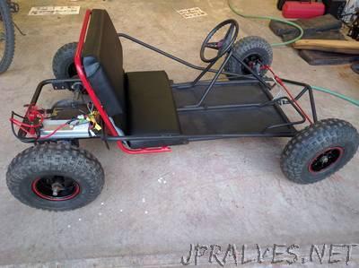 E-Kart: The electric Go Kart