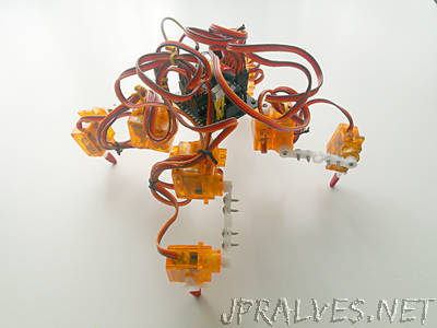 Tote  Quadruped Robot