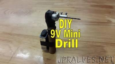 9V Mini Drill