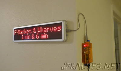 SF Muni LED Sign at Home with Raspberry Pi