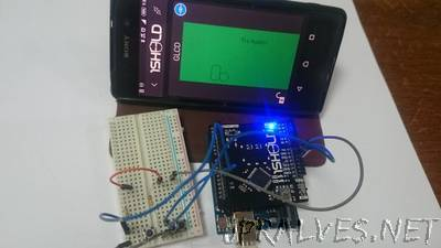 Simple Graphical Game With Arduino and OneSheeld