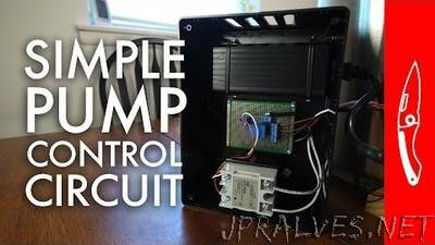 Simple Pump Controller and Circuit
