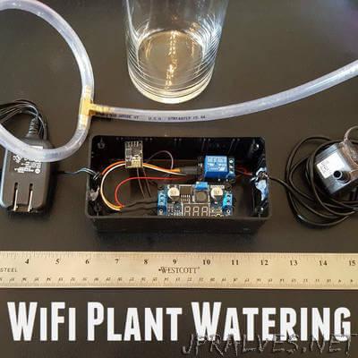 WiFi Plant Watering ESP8266