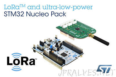 STMicroelectronics Empowers Wireless IoT-Device Developers with New LoRa™ Kit Leveraging STM32 Microcontroller Ecosystem