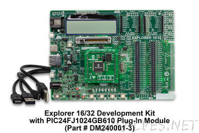 Microchip Debuts New Development Board for Designing with 16-bit and 32-bit PIC® Microcontrollers