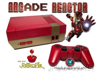 ARCade Reactor - RetroPie Gaming and Media System