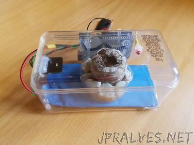 Arduino Controlled Seed Incubator