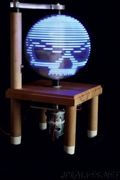 Build a Persistence-of-Vision LED Globe