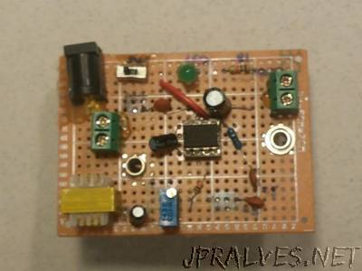 Building an Audio Amplifier