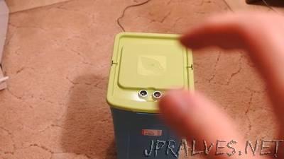 Robotized Trashcan