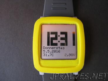 Chronio - Low power Arduino based (smart)watch