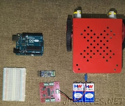 Gesture Controlled Robot Using Arduino And Bluetooth