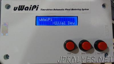 uWaiPi - Time Driven Automatic Plant Watering System