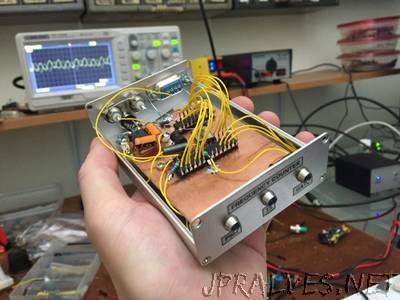 VHF Frequency Counter with PC Interface