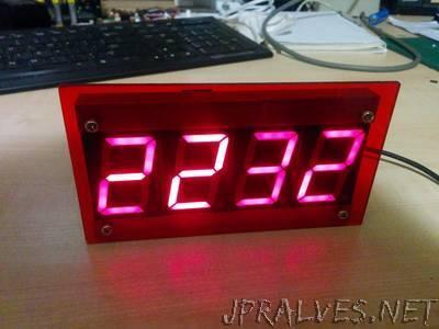 ESP8266 based NTP Clock