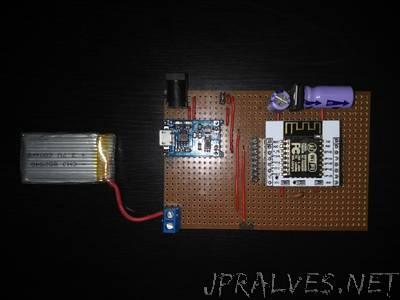 esp8266 Configurable Power Management