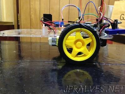 Balancing Robot Using IR Remote (Arduino R3, DC Motor, L298N, MPU6050)