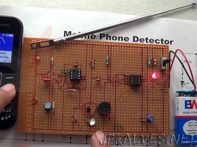 Basic Cell Phone Detector