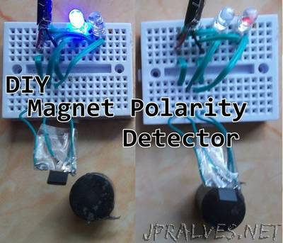Magnet Polarity Detector