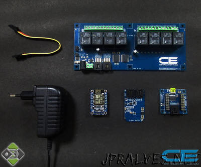 Home Automation with ESP8266 and Relay Controller