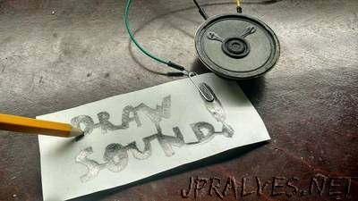 Draw Sound With Arduino