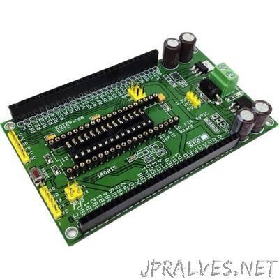 40 Pin & 28 Pin dsPIC Development Board
