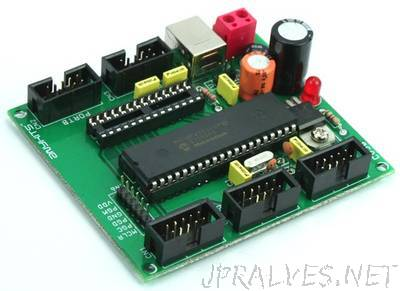 40 PIN & 28 PIN PIC18F USB Development Board